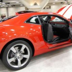 O carro na cor laranja é um dos mais  bonitos (Foto: Divulgação)