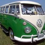 A Kombi é o primeiro modelo da Volkswagen a ser produzido no Brasil. (Foto: divulgação)