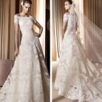 Vestido de noiva com acabamento delicado. (Foto:Divulgação)