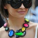 Os colares estão entre as principais tendências para o inverno 2013. (Foto: divulgação)