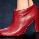 Os sapatos também foram mostrados no SPFW. (Foto: divulgação)