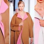 Os casacos bicolores estão entre as tendências para o inverno 2013.  (Foto: divulgação)