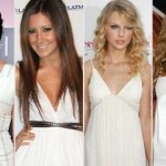 O vestido branco é a nova tendência do verão 2012. (Foto: divulgação)
