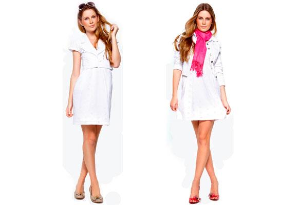 O vestido branco pode ser utilzado em diversas situações, basta alternar os acessórios. (Foto: divulgação)