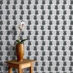 Um lindo papel de parede do timão decora casa. (Foto:Divulgação)
