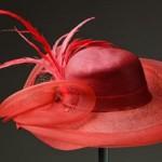 Chapéu de abas largas enfeitados com voilette e penas é um clássico. (Foto: divulgação)