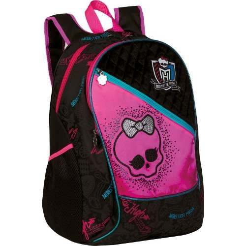 Mochilas das Monster High, preços, onde comprar