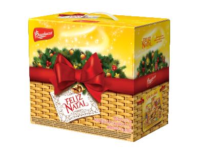 Faça as cestas de Natal com produtos da Bauducco (Foto: Divulgação)