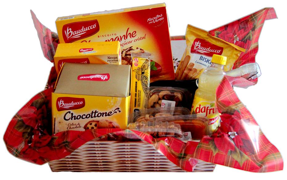 Conheça as cestas da Bauducco (Foto: Divulgação)