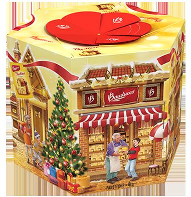 Cesta de Natal 2016 Bauducco