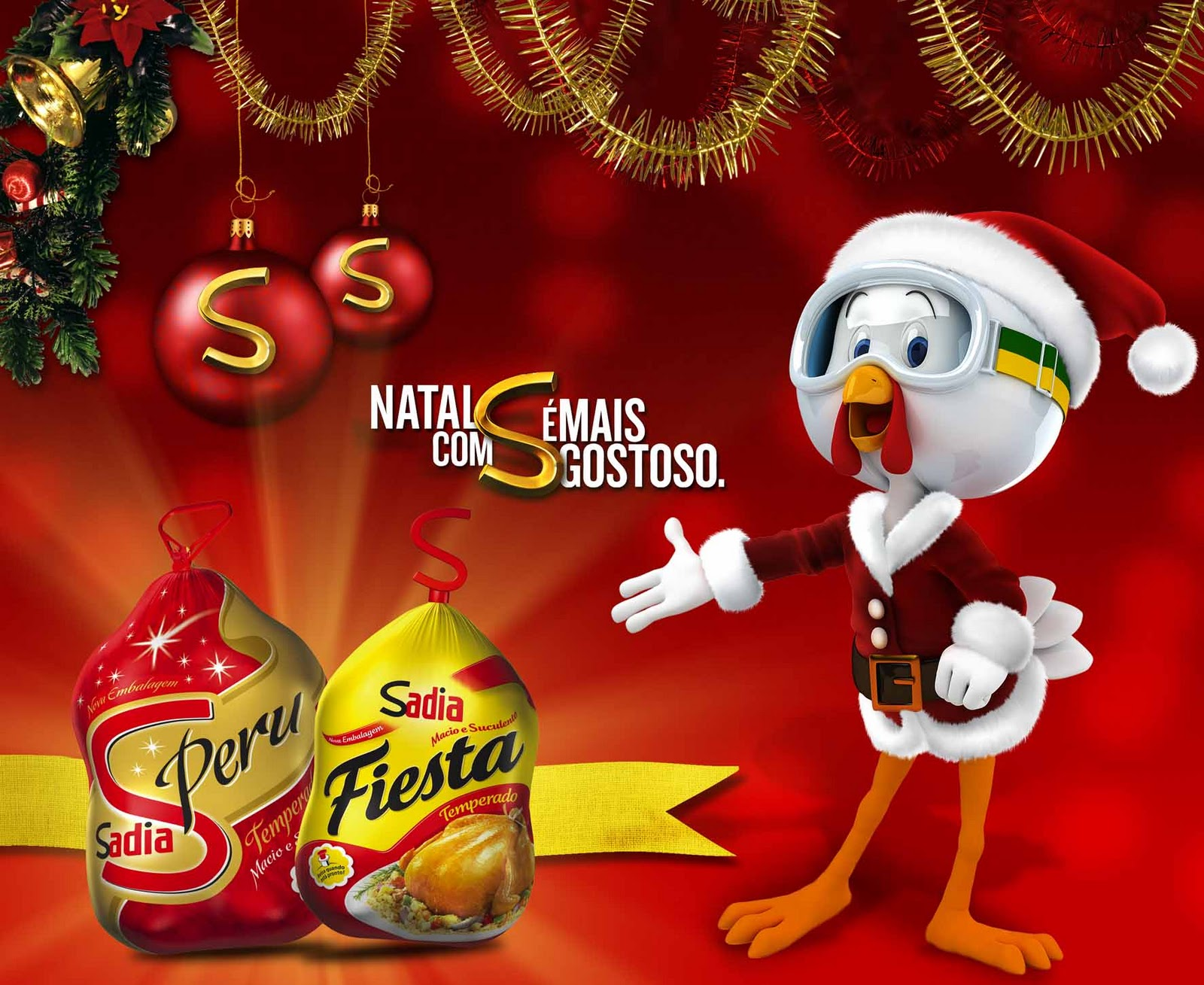 Aposte em uma cesta de Natal Sadia (Foto: Divulgação)