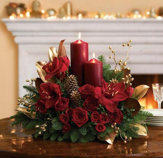 Velas para decorar a sua mesa de Natal (Foto: Divulgação)