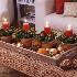 Decoração de mesa para ceia de Natal 2016