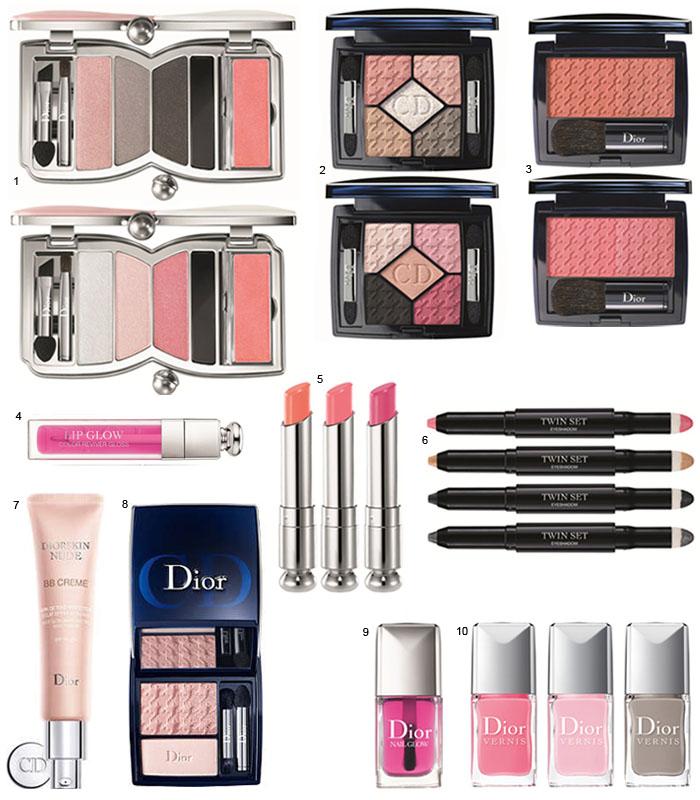 Kits de maquiagem Dior para o Natal