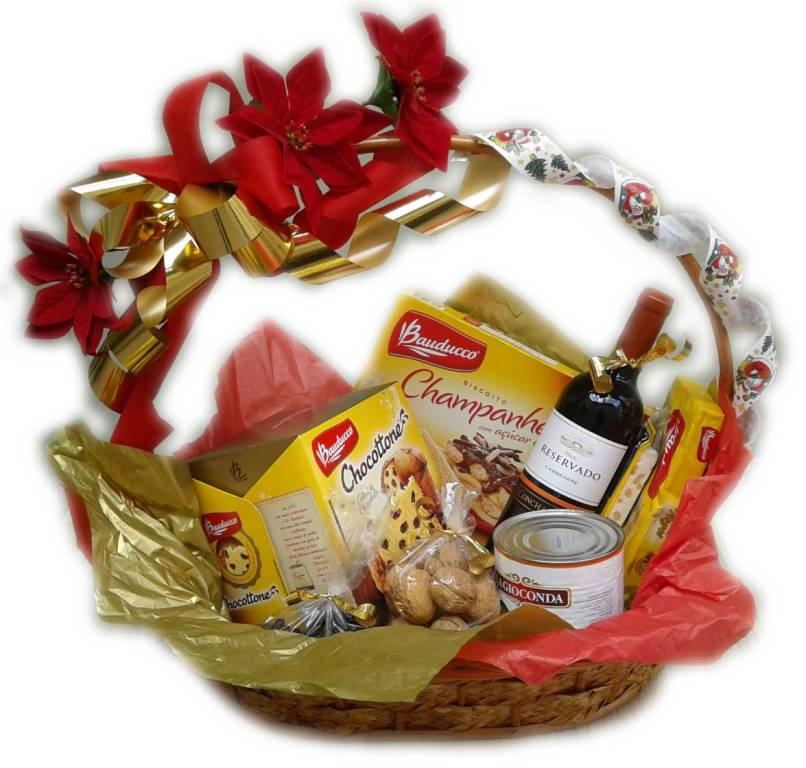 Produtos para conseguir montar uma cesta de Natal (Foto: Divulgação)