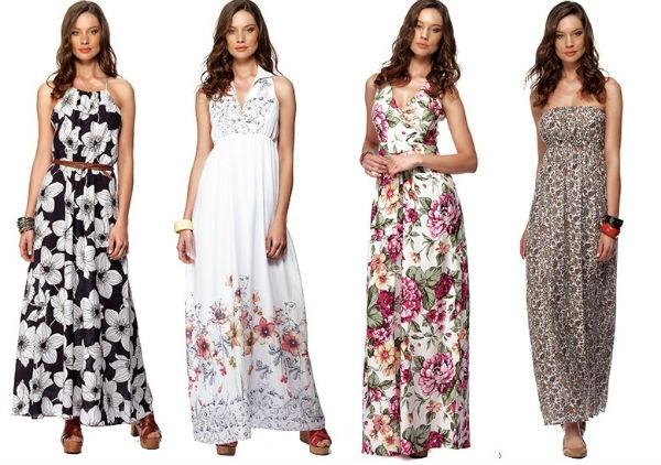 Roupas elegantes para o verão vestido