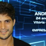 André, 24 anos, mora em Vitória (ES). É empresário. (Foto:Divulgação)
