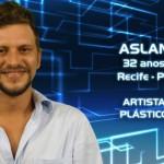 - Aslan, 32 anos, mora em Recife (PE). É artista plástico. (Foto:Divulgação)