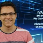 Ivan, 26 anos, mora em Rio Claro (SP).  Trabalha como professor de inglês. (Foto:Divulgação)