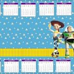 Calendário do filme Toy Story 2013. (Foto:Divulgação)