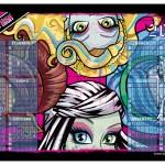 Calendário Monster High 2013. (Foto:Divulgação)