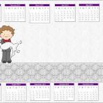 Calendário de casamento 2013.(Foto:Divulgação)