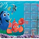 O filme Procurando Nemo inspirou o calendário. (Foto:Divulgação)