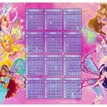 Calendário de fadinhas 2013.(Foto:Divulgação)