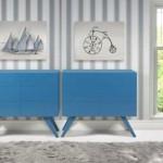Os móveis em laca deixam a decoração mais colorida e moderna. (Foto:Divulgação)