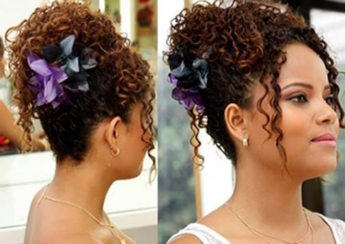 Vários penteados podem ser feitos em cabelos afro. (Foto: divulgação)