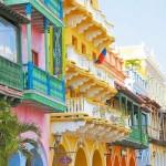 As fachadas antigas também podem ser coloridas. (Foto:Divulgação)