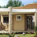Fachadas de casas bonitas e pequenas - Decorador de fotos gratis ...