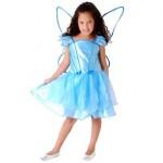 A roupa de fada é bastante leve e mexe com a imaginação das meninas. (Foto: divulgação)