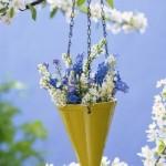 As flores penduradas são excelentes opções de escolha. (Foto: divulgação)