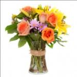 Vários arranjos de flores podem ser criados. (Foto: divulgação)