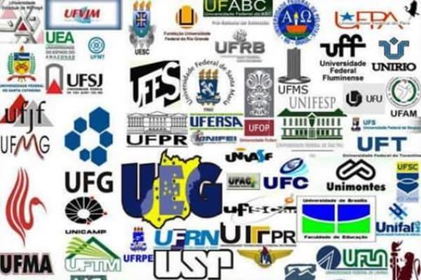 Lista de instituições que participam do Sisu 2018 logo das instituições participantes