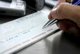como preencher cheque