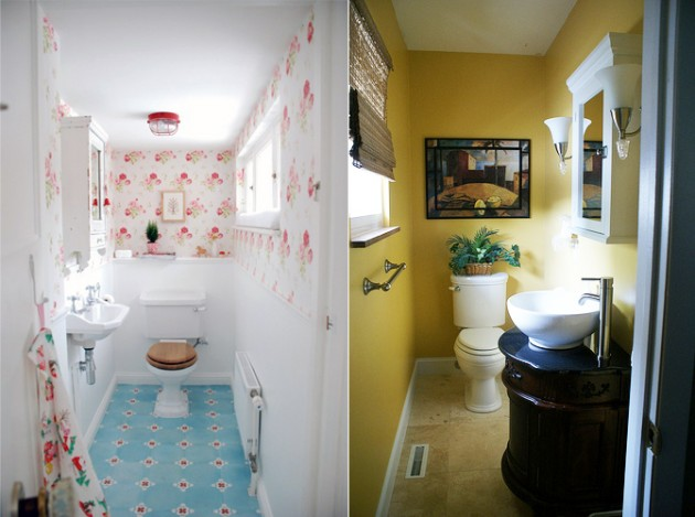 Dicas de decoração para banheiro pequeno  MundodasTribos – Todas as tribos e -> Decoracao Para Porta De Banheiro De Escola