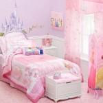 Tema 'Princesas' na decoração do quarto. (Foto:Divulgação)