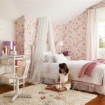 O quarto da menina deve ser delicado e romântico.  (Foto:Divulgação)