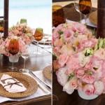 Veja mais esse exemplo de decoração com rosa e branco (Foto: Divulgação)