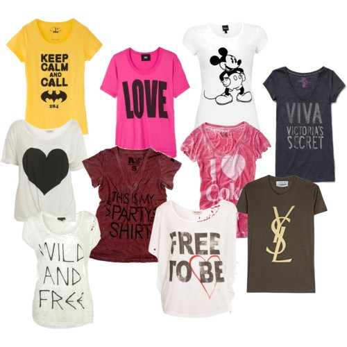 As frases podem estar presentes em camisetas divertidas. (Foto: divulgação)