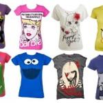 Os desenhos também estão presentes nas camisetas divertidas. (Foto: divulgação)