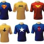 Vários personagens podem ser encontrados nas camisetas divertidas. (Foto: divulgação)