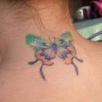A borboleta na nuca pode ser bem maior (Foto: Divulgação)