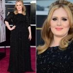 Vestido de Adele. (Foto:Divulgação)