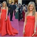 Vestido de Jennifer Aniston. (Foto:Divulgação)