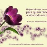O Dia Internacional da Mulher merece ser comemorado com muitas mensagens. (Foto:Divulgação)