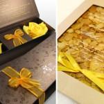 faça o convite com caixas de flores (Foto: Divulgação)