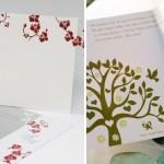 Convite de casamento com ilustração (Foto: Divulgação)